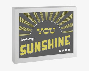 You Are My Sunshine Printable