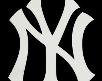 "New York Yankees NY Logo 4"" Vinyl Decal Widow Sticker for Car, Truck, Motorcycle, Laptop, Ipad, Window, Wall, ETC"