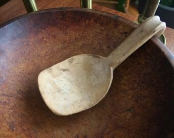 Antique Hand Carved Ladle - 19th Century