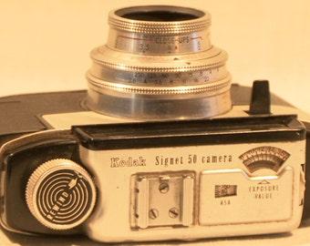 Vintage Kodak Signet 50 Camera w/ Ektanar Lens