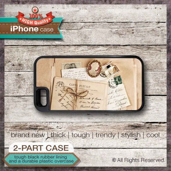 Vintage Postcard Design 1 - iPhone 6, 6+, 5 5S, 5C, 4 4S, Samsung Galaxy S3, S4