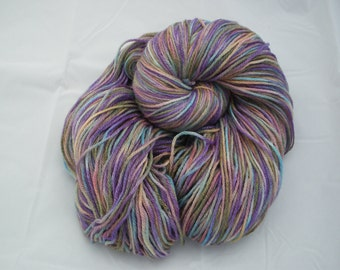 Hand Painted Dyed Merino Bamboo Sock Yarn