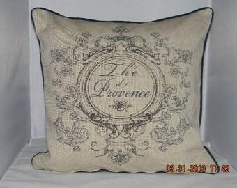 "La Provence Linen Pillow 18""X 18"""
