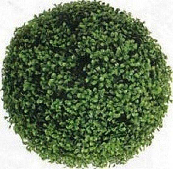 Un 16 pouces buis topiaire artificiel boule par for Arbuste buis artificiel