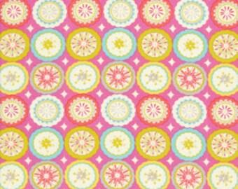 Half yard - 1/2 yard - Dena Fishbein - Kumari Garden - Lalit in Pink