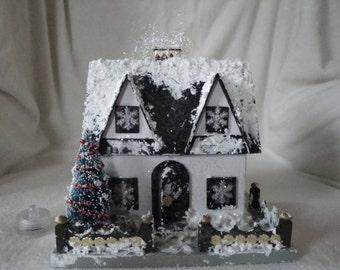 Black & White Miniature House