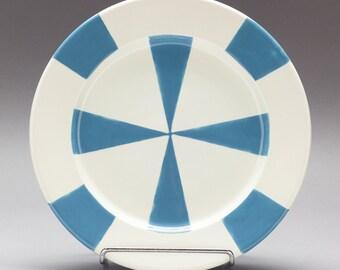 Hand painted Pop Mod TV Plates