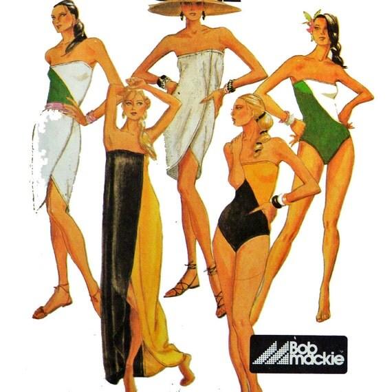 Vintage Swim Suit Pattern 112