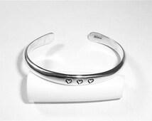 Baby bracelet, Silver Baby Bracelet, Sterling silver baby bracelet, Heart baby bracelet, baby, Toddler, arrows, angel wings