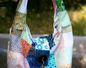 patchwork handbag