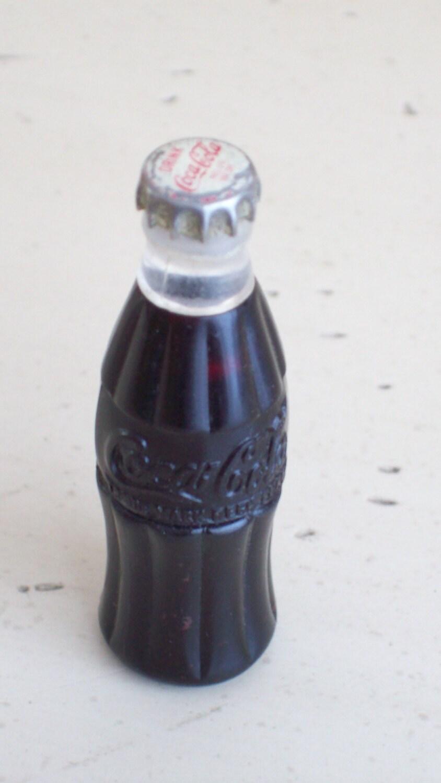 Vintage Lighter Coca Cola Bottle Cigarette Lighter Amp Mini