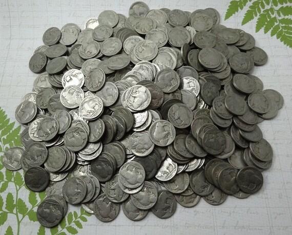 Bag Of 500 Old Buffalo Nickels