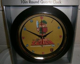 Custom-made Classic Legend of Zelda videogame wall clock