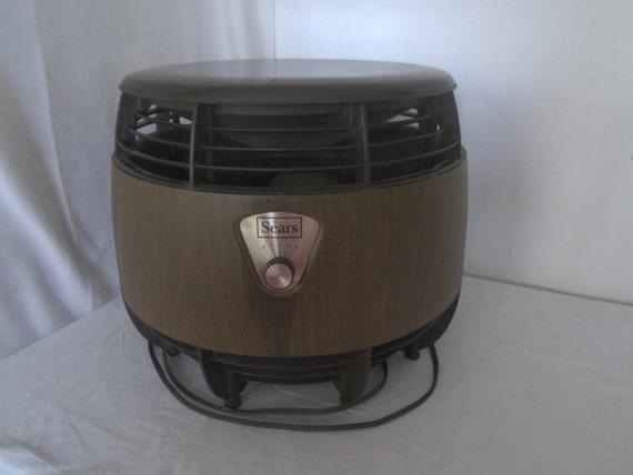 Floor Hassock Floor Fan Stool Seat Sears 4 Speed Working