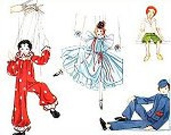 A  Marionette Play Pattern  1936 - Photocopy