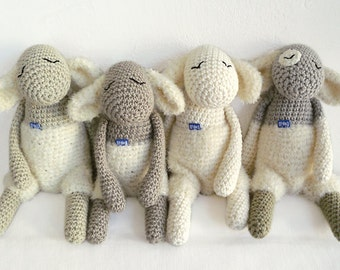Stuffed animal / Mary's Little Lamb with jumper
