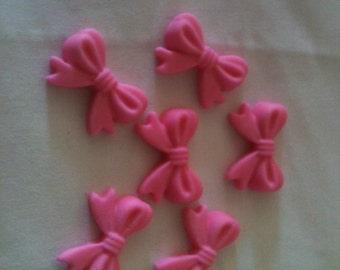 Edible Fondant Cupcake or Cake Topper - Bows