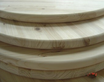 """Unfinished Pine Round 18"""" For Table Top, Sign, or Serving Tray"""
