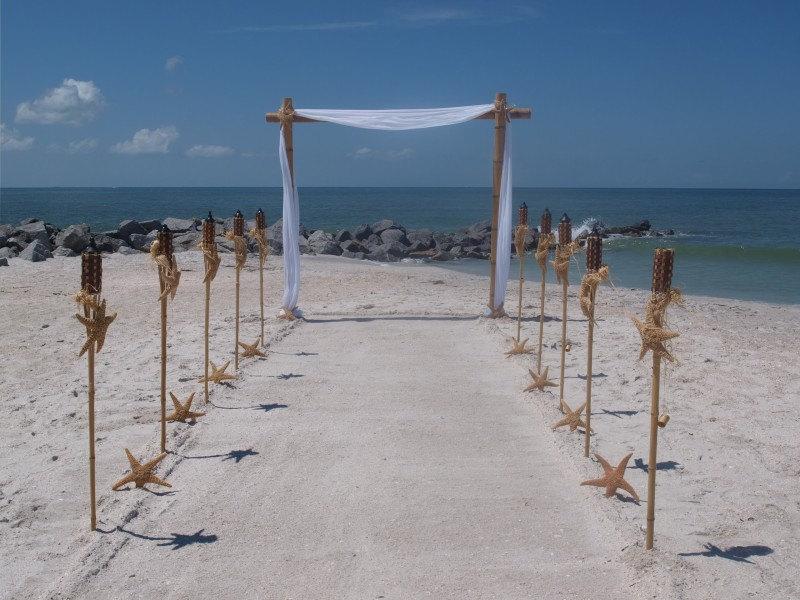 Diy Beach Wedding Ceremony Decorations : Diy wedding arch beach images