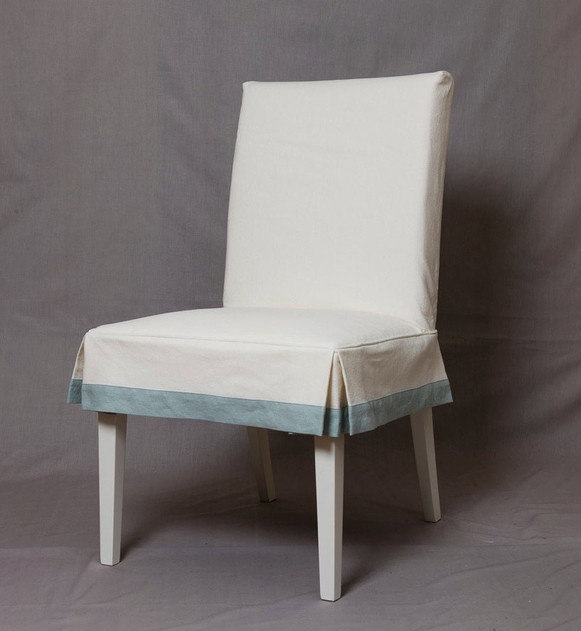 Ikea Dining Room Chair Covers: HENRIKSDAL Chair Slipcover With Short Tailored Skirt And