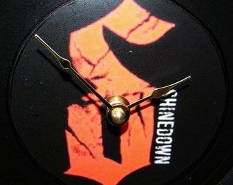 SHINEDOWN Inspired Vinyl Record Wall Clock
