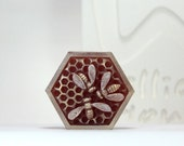 Hex honeycomb - handmade design soap mold