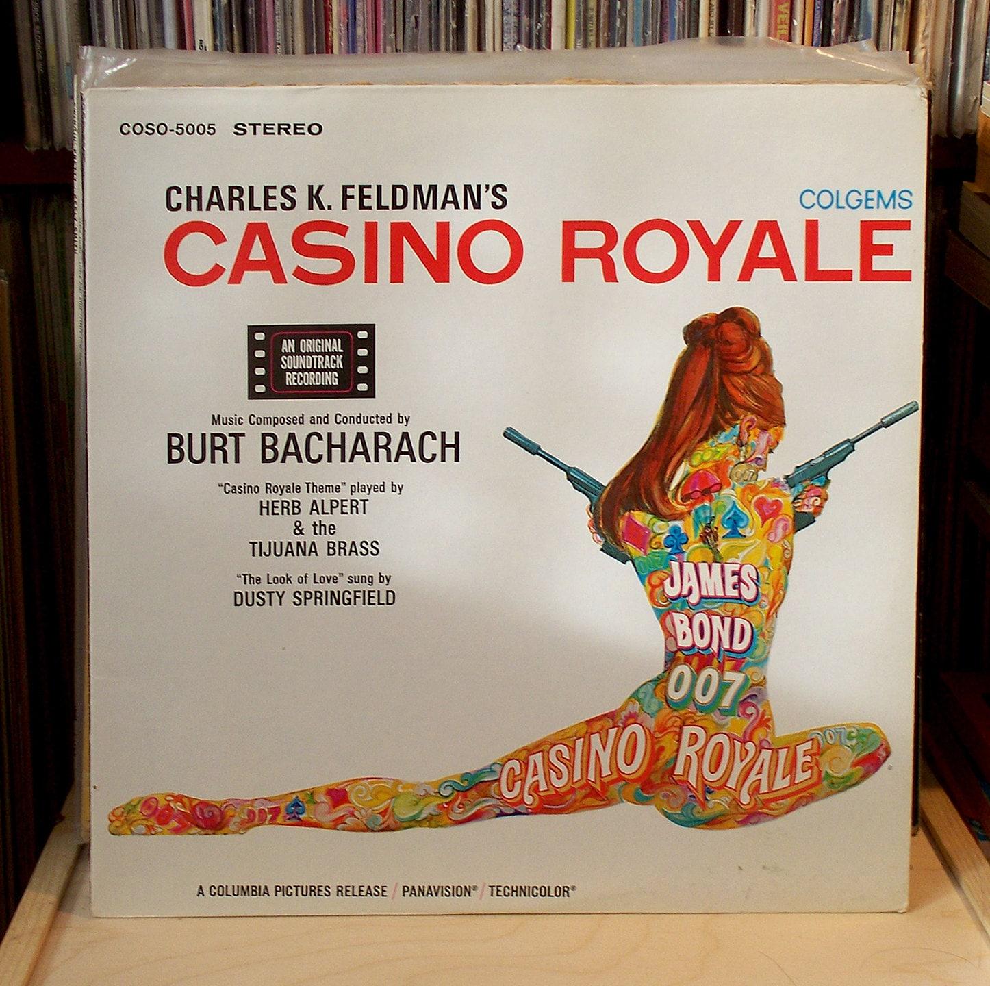 Vinyl Lp Soundtrack 1967 Casino Royale 007 By