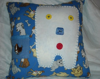 Tooth Fairy Pillow/dog tooth fairy pillow/ tooth pillows/ doggy tooth fairy pillows/ kids tooth pillows/dog tooth pillow/puppy tooth pillow