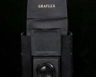 4x5 Graflex Series B Curtain Aperture With Case, Portrait Lens and 4x5 Film Backs