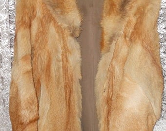 Beautiful women's wolf coat jacket  Classic-cut Size Medium (G.B. 10/12)