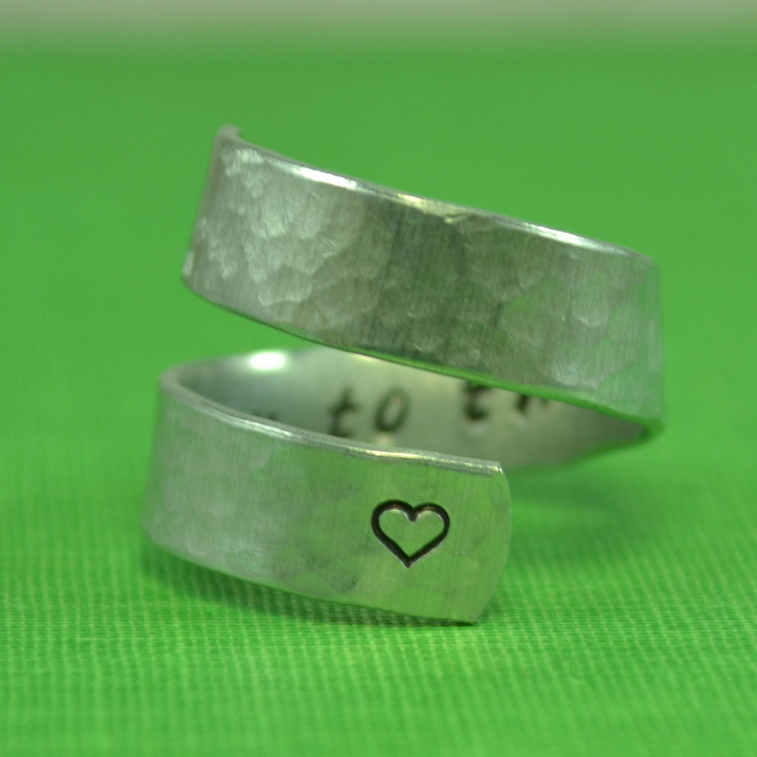 Love You To The Moon And Back Ring
