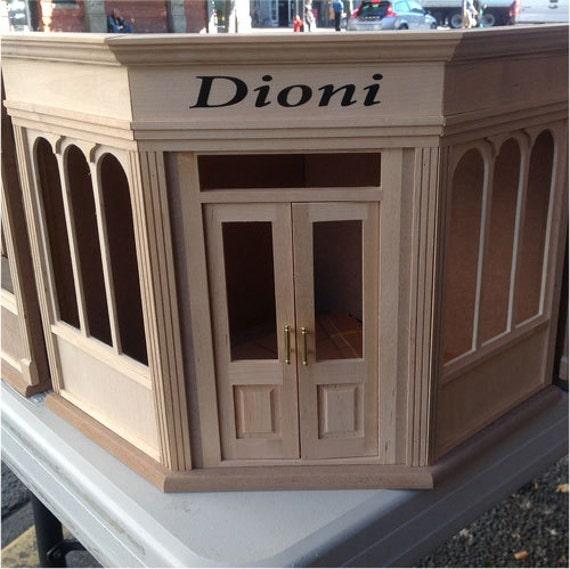 Dollhouse Miniatures Victoria Bc: Miniature Corner Roombox Kit Dioni By MiniLAND 3min Assembly
