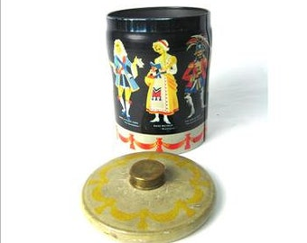 Collectible Tin Container