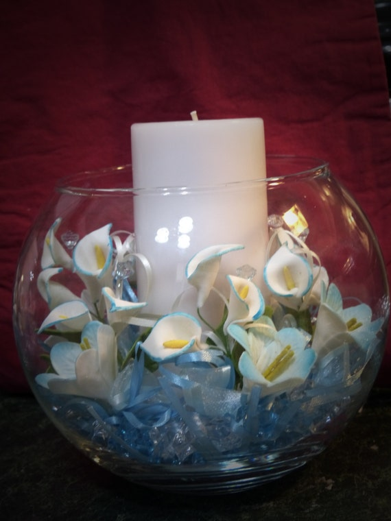 Items similar to elegant centerpieces for baby shower