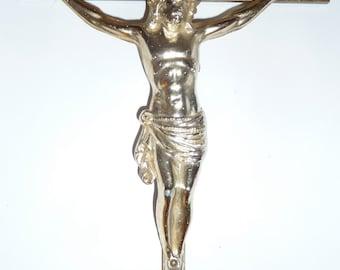 Vintage metal crucifix