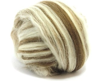 Humbug Finnish Blend  - Roving - Top - Felting Wool - Spinning