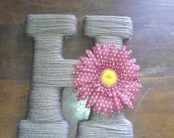 Customized Yarn Letter