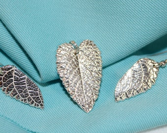 The silver leaf set