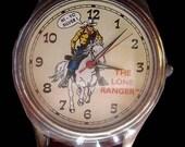 Lone Ranger Fossil Watch Mini Lunch Box
