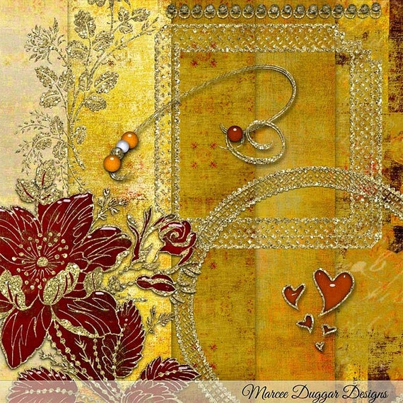 Desiree  Digital Scrapbook Kit