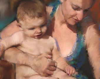 Bath Time -childrens portraits