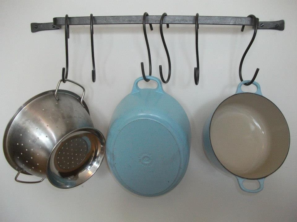 Wall Mounted Pot Rack Made To Measure Hanging Pan