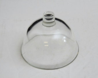 Indiana Glass 3.5 inch Glass Dome Set of 6pcs