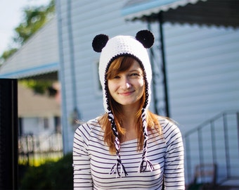 Panda Hat - Any Size