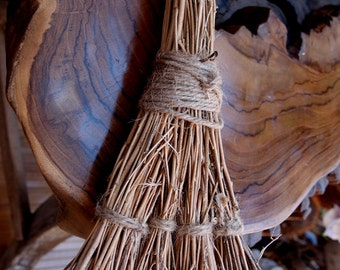 "Jump the Broom  - Handmade 29"" Brooms - Weddings"