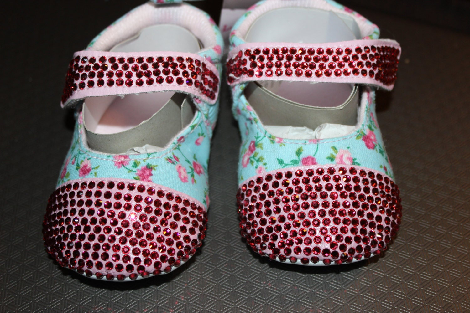 Size 12-18 months baby girl shoes bling baby shoes pink