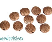 10 Beads Spacer Color copper #S203
