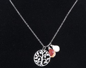 Rainbow Labradorite Sterling Silver Drop By Ommadejewelry
