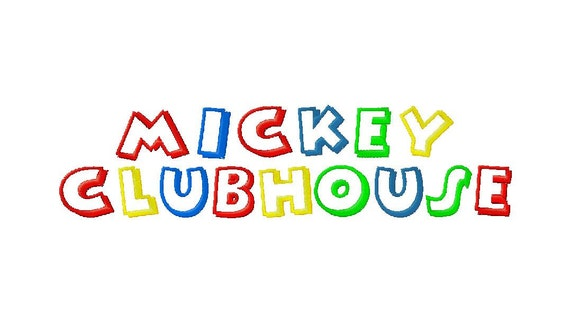 INSTANT DOWNLOAD Walt Disney Mickey Mouse Clubhouse Machine