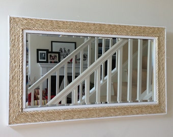 Natural Nautical Rope Mirror